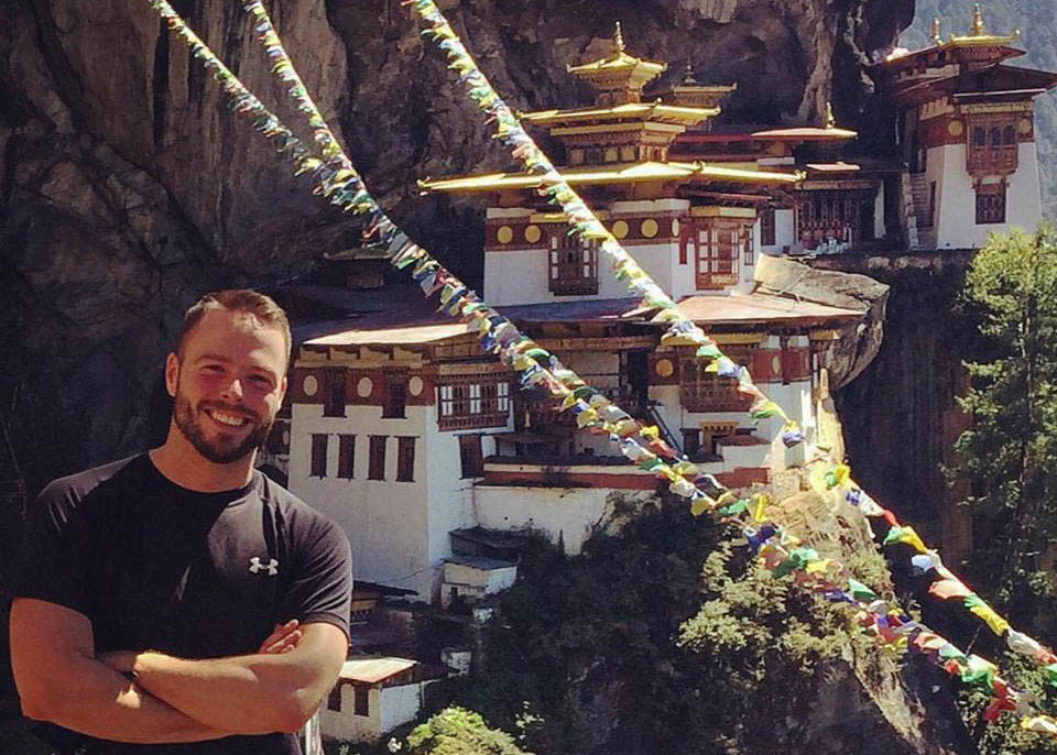 Out Adventures; Robert Sharp; Gay Travel; Bhutan