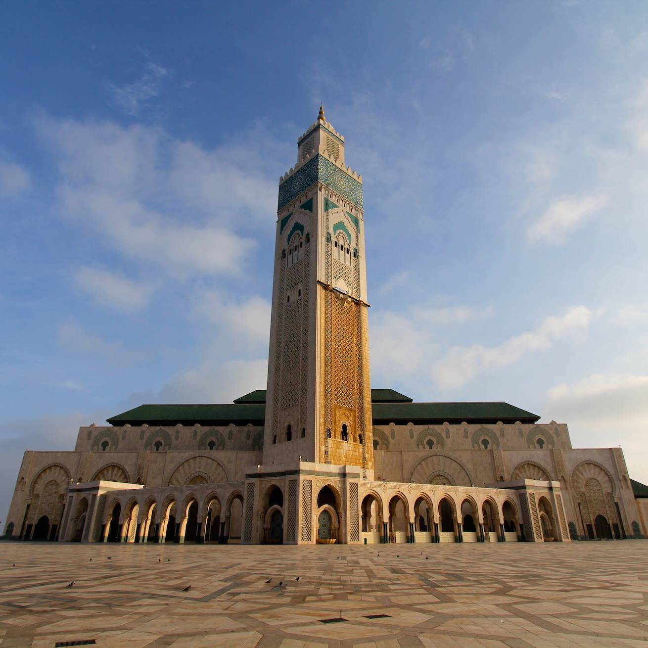 All Gay Tours of Morocco should include a stop at the grand Hassan II Mosque.