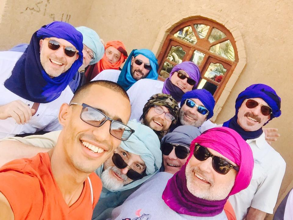 While discretion is advised, Out Adventures' Gay Tour of Morocco always includes a little bit of colour.