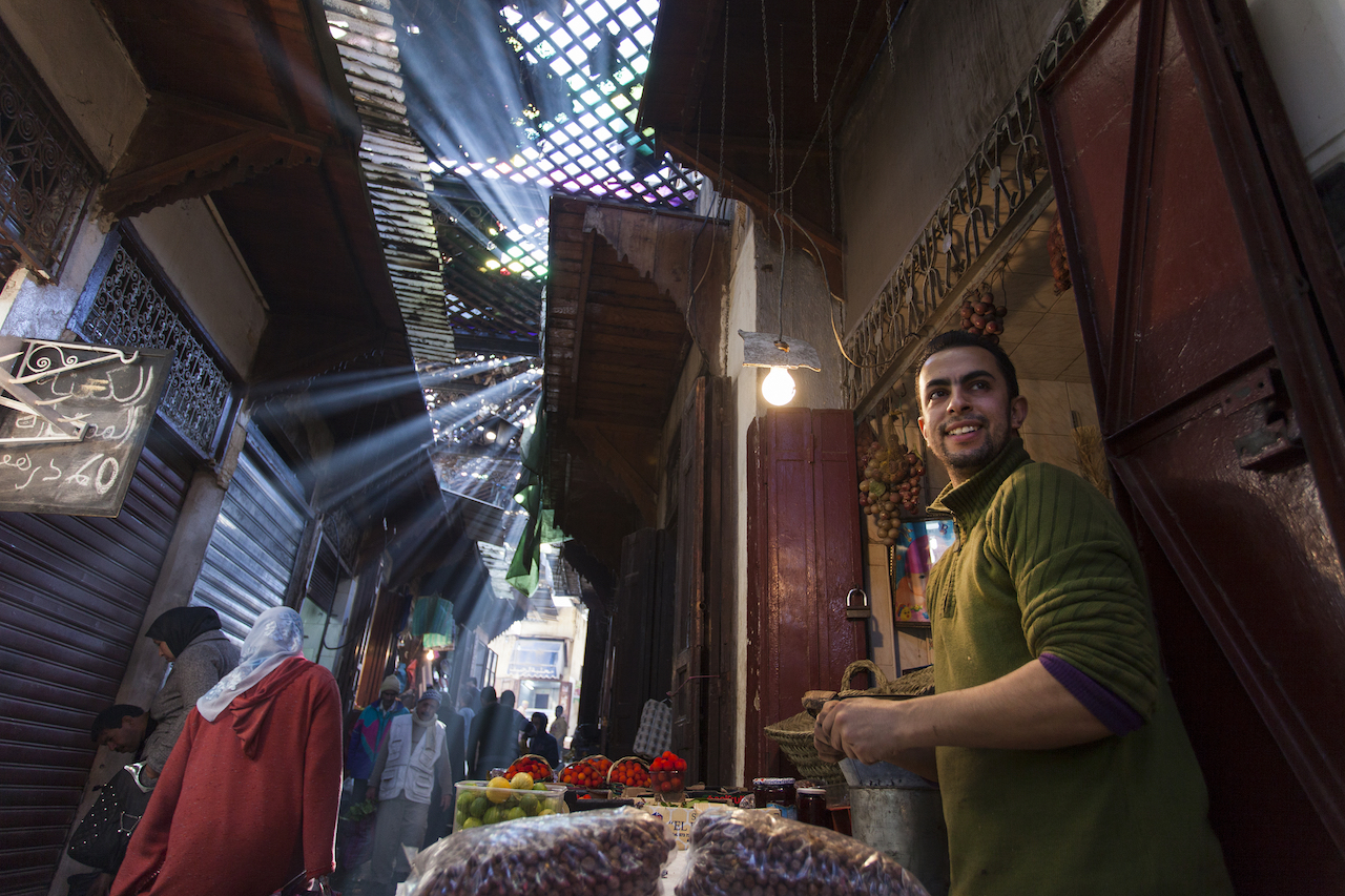 Haggling is a quintessential Moroccan tradition.