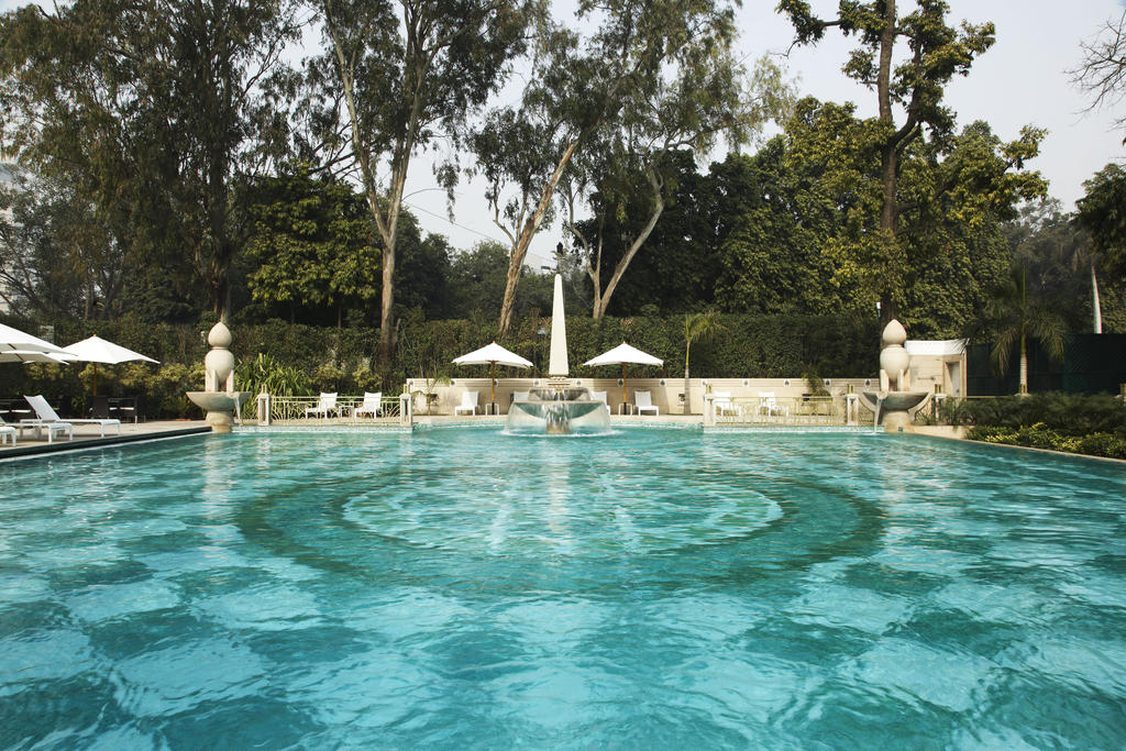The beautiful pool at The Imperial in New Delhi.