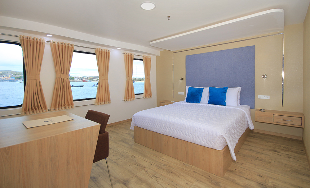 A preview of The Grand Queen Beatriz's Standard Double Cabin.