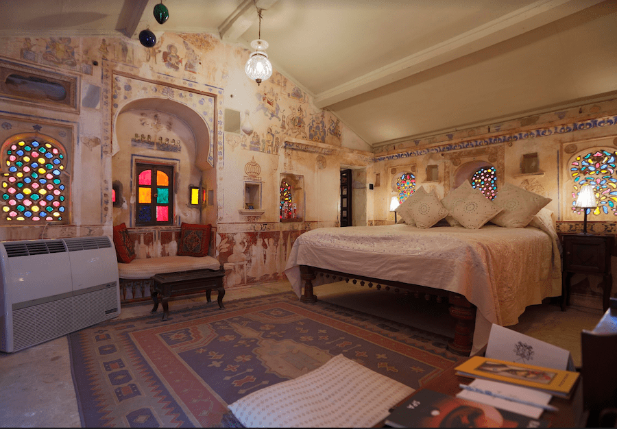 An example of the Grand Heritage Room at Rawla Narlai.