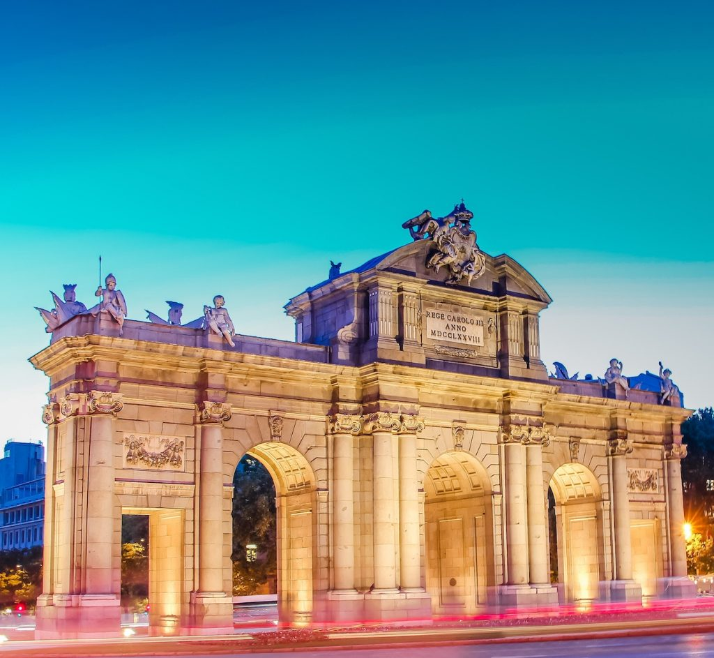 See famous sights like The Puerta de Alcalá on our Madrid walking tour.