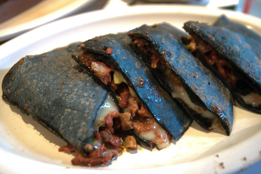 Blue Corn Quesadilla