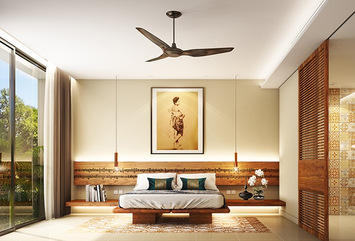 A room in the FCC Angkor by AVANI