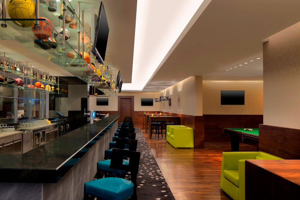 Le Meridien Cairo Airport Hotel bar and lounge