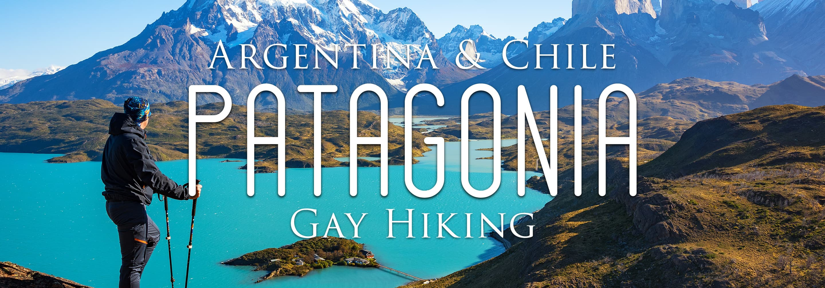 The header image for Out Adventures' Argentina & Chile: Patagonia Gay Hiking tour.