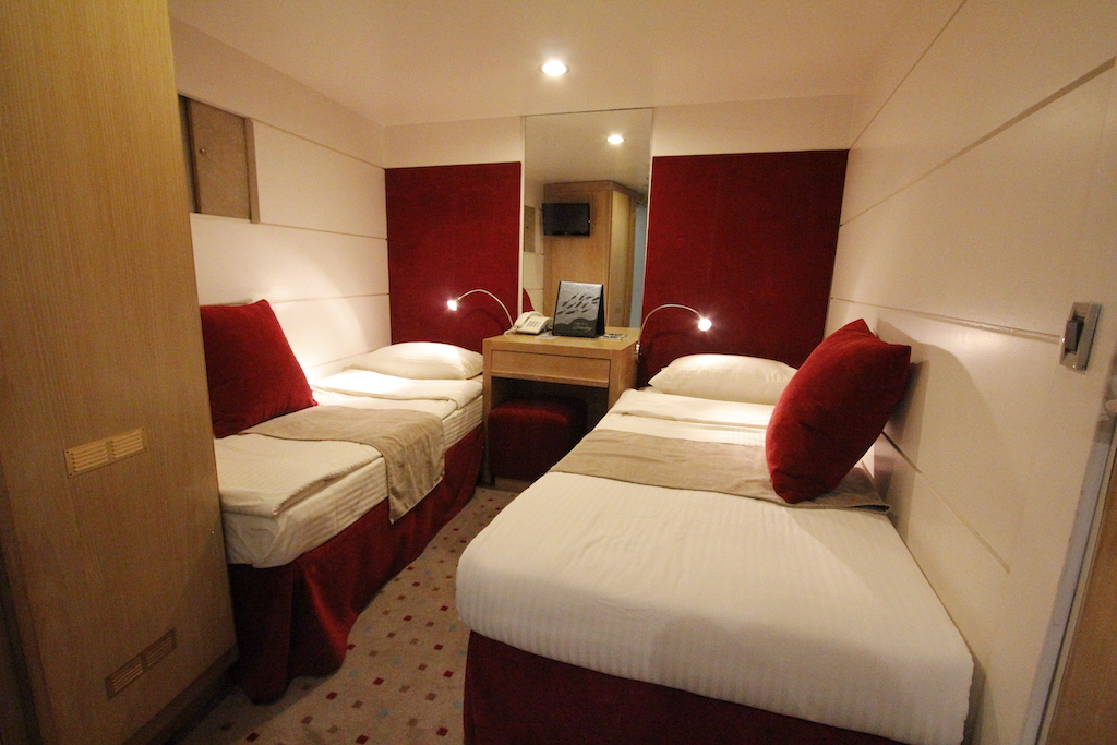 Category B cabin aboard the Harmony G.