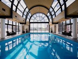 The pool at Hotel Grand Chancellor in Hobart.