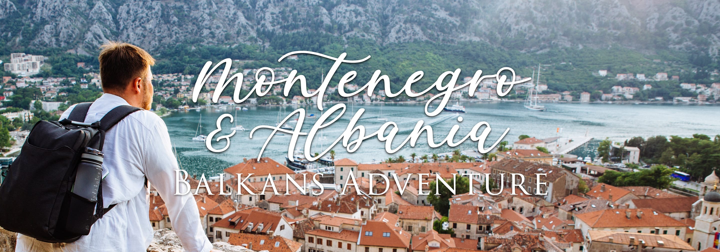 The header image for Out Adventures' gay tour of Montenegro & Albania.