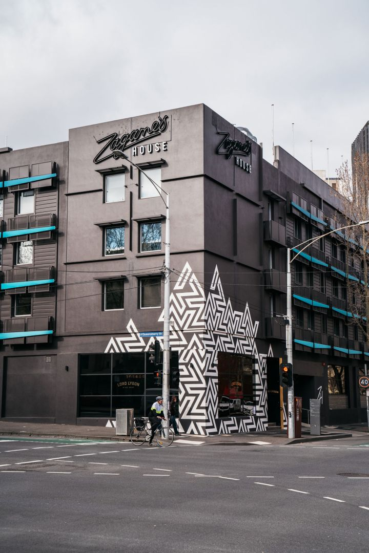 Exterior photo of Zagma's House in Melbourne.