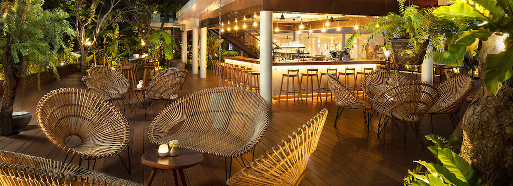 Scribe Bar and restaurant in FCC Angkor by AVANI, Siem Reap.