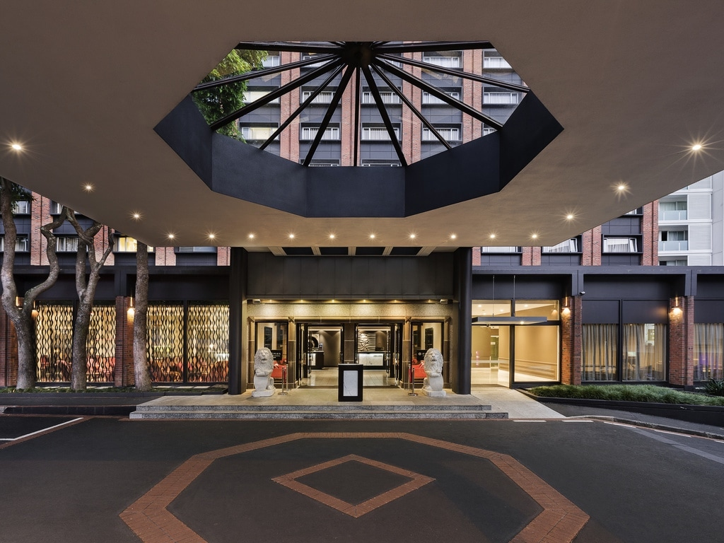A grand sense of arrival awaits at the Pullman Hotel Auckland.